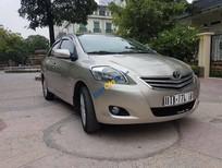 Bán ô tô Toyota Vios 1.5 E đời 2010, màu vàng, giá tốt