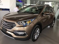 Cần bán Hyundai Santa Fe 4WD sản xuất 2016, màu vàng
