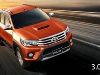 Cần bán Toyota Hilux E 2016, màu đỏ, xe nhập