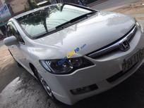 Bán xe Honda Civic 1.8AT đời 2008, màu trắng xe gia đình giá cạnh tranh