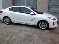 Bán ô tô Mazda 3 sản xuất 2012, màu trắng, xe nhập