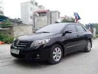 Gia đình cần bán xe Corolla Altis màu đen Số tự động sx 2009