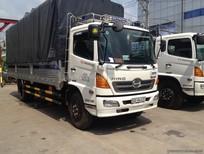 Bán xe tải Hino FC9JJSW thùng mui bạt giá cạnh tranh, lãi suất thấp