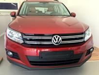 Volkswagen Tiguan 2.0 TSI 2016, màu đỏ, xe nhập Đức. Khuyến mãi cực kỳ hấp dẫn