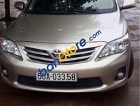 Bán xe Toyota Corolla Altis 1.8G đời 2011, màu vàng, nhập khẩu còn mới