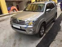 Bán xe cũ Toyota Fortuner 2.7 4WD AT sản xuất 2011, màu bạc xe gia đình