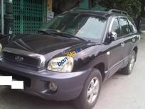 Cần bán Hyundai Santafe Gold 2003, màu đen, nhập khẩu chính hãng, giá chỉ 320 triệu