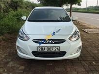Bán Hyundai Accent 1.4AT sản xuất 2012, màu trắng, xe nhập