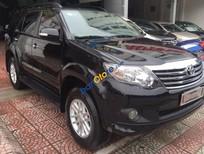 Salon Auto Gia Bảo cần bán gấp Toyota Fortuner 2.7V 4x2AT đời 2014, màu đen