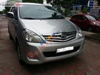 Bán Toyota Innova 2.0G đời 2011, màu bạc số sàn, 595tr