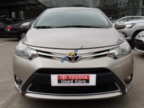 Toyota Cầu Diễn bán Vios E 2014 màu vàng cát