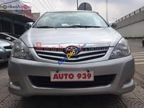 Bán Toyota Innova 2.0 G đời 2011, màu bạc chính chủ, giá 638tr