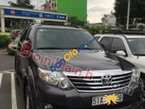 Cần bán xe Toyota Fortuner 2.7V 4x2AT đời 2014, màu xám, giá tốt