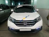 Cần bán lại xe Honda CR V 2.4 AT đời 2014, màu trắng như mới