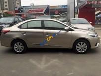 Bán Toyota Vios G đời 2015, màu ghi vàng số tự động, 615tr