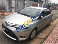 Cần bán gấp Toyota Vios G đời 2014, màu bạc số tự động, giá tốt