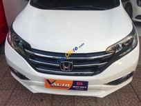 Bán xe Honda CR V 2.4 đời 2014, màu trắng