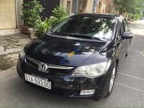 Bán Honda Civic 2.0AT 2008, màu đen