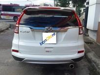 Cần bán lại xe Honda CR V 2.4AT đời 2014, màu trắng