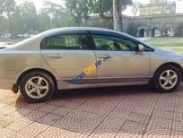Cần bán gấp Honda Civic 1.8AT đời 2008, màu bạc chính chủ, giá 480tr