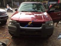 Cần bán xe cũ Ford Escape XLT đời 2002, màu đỏ