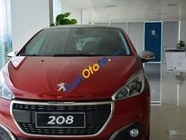 Bán xe Peugeot 208 Facelift đời 2015, màu đỏ, giá chỉ 895 triệu
