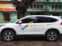 Cần bán xe Honda CR V đời 2013, màu trắng