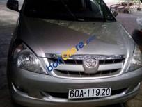 Cần bán lại xe Toyota Innova G năm 2007, màu bạc
