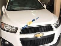Bán Chevrolet Captiva LTZ đời 2015, màu trắng ít sử dụng, 735 triệu