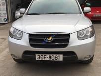 Bán Hyundai Santa Fe 4WD đời 2007, màu bạc, nhập khẩu chính hãng