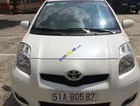 Bán Toyota Yaris 1.3AT đời 2010, màu trắng