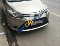 Cần bán xe Toyota Vios G 1.5  AT đời 2016, màu vàng