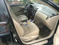 Cần bán gấp Toyota Corolla altis 2.0 AT sản xuất 2012, màu đen