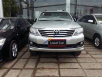 Cần bán gấp Toyota Fortuner 2.7V đời 2012, màu bạc