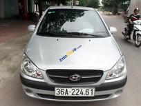 Xe Hyundai Getz đời 2011, màu bạc