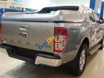 Bán Ford Ranger XLT 4x4 MT đời 2016, màu bạc, nhập khẩu
