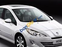 Bán ô tô cũ Peugeot 408 đời 2014, màu trắng