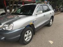 Bán Hyundai Santa Fe Gold đời 2004, màu bạc