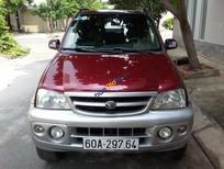 Bán xe cũ Daihatsu Terios đời 2004, màu đỏ chính chủ giá cạnh tranh