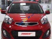 Bán ô tô Kia Morning 1.0 AT đời 2011, màu đỏ