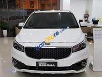 Bán xe Kia Sedona GAT đời 2016, màu trắng