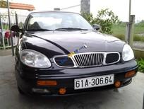 Bán Daewoo Leganza năm 2001, màu đen, giá 159tr