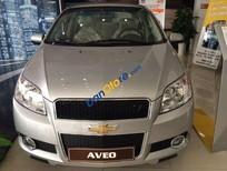 Bán ô tô Chevrolet Aveo 1.5 AT đời 2016, màu bạc