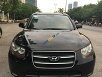 Bán xe Hyundai Santa Fe MLX đời 2008, màu đen, 665tr