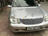 Cần bán xe Mercedes C180 đời 2005, màu xám, nhập khẩu nguyên chiếc, giá chỉ 370 triệu