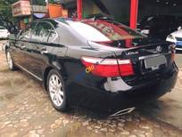 Xe Lexus LS 460L đời 2008, màu đen số tự động
