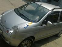 Cần bán lại xe Daewoo Matiz sản xuất 2007, màu bạc, giá chỉ 155 triệu