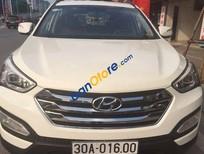 Cần bán xe Hyundai Santa Fe AT 2013, màu trắng