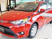 Bán ô tô Toyota Vios E 1.5MT đời 2016, màu đỏ, giá tốt
