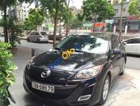 Cần bán Mazda 3 AT đời 2010, màu đen